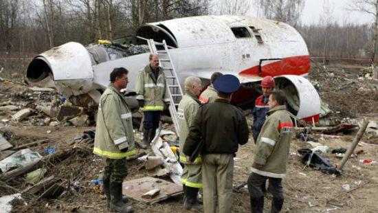 В Польше опубликовали полный отчет о Смоленской катастрофе
