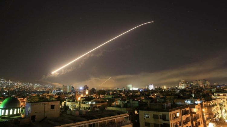 Запад нанес удар по Сирии. Все подробности