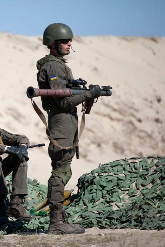 Нацгвардия Украины получила первые 500 40-мм ручных противотанковых гранатометов PSRL-1 из США
