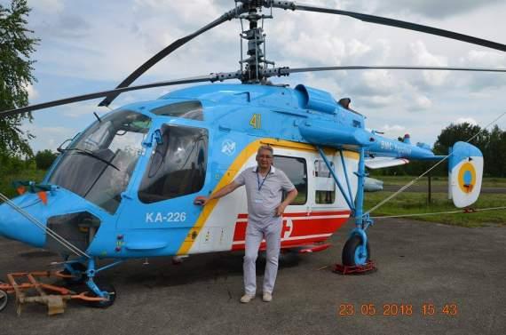 Авиация ВМС Украины получила вертолет Ка-226