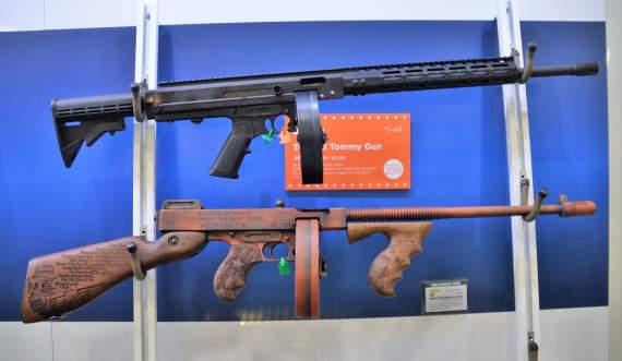 Компания Auto-Ordnance объявила о выпуске «тактической» версии Tommy Gun