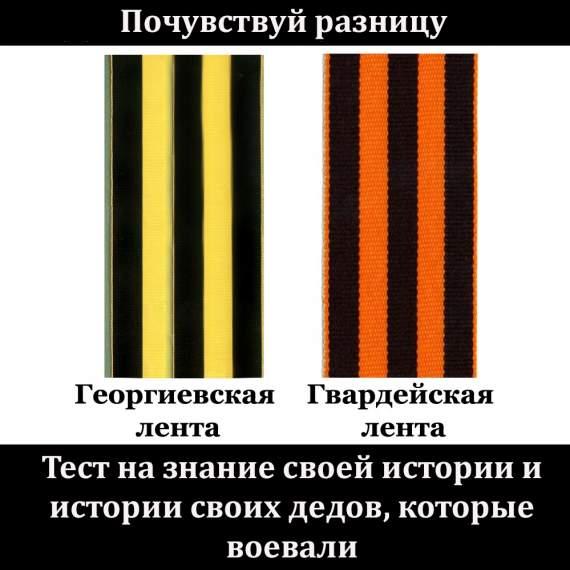 Россиянам на заметку: Георгиевская лента не must have, а проявление неуважения к Победе 9-го мая