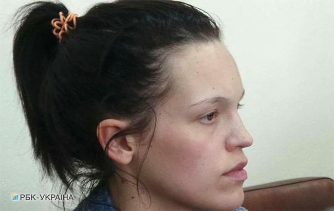 Лапинская признала свою вину в нападении на «киборга», но суд арестовал ее на 30 суток
