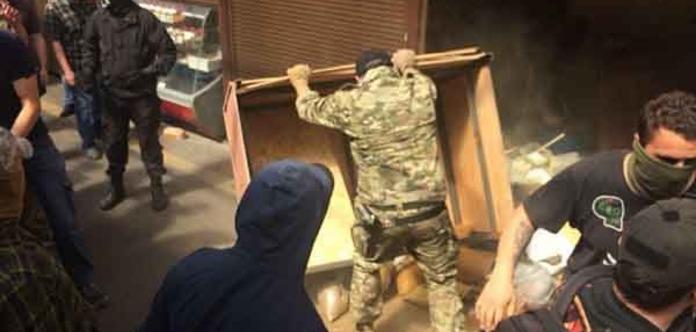У Києві розгромили ринок, де побили військового пенсіонера