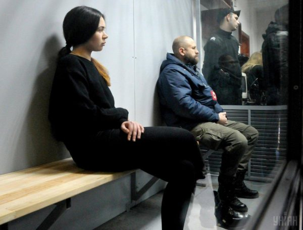 В сети появилось видео с Зайцевой в первые минуты после страшного ДТП в Харькове