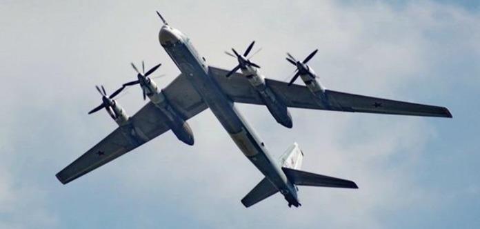ВВС США біля берегів Аляски перехопили два російські Ту-95 «Ведмідь»