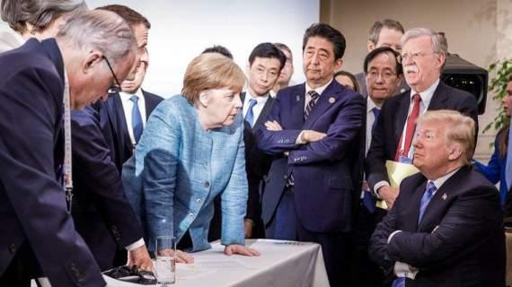 Меркель показала интересное фото с Трампом