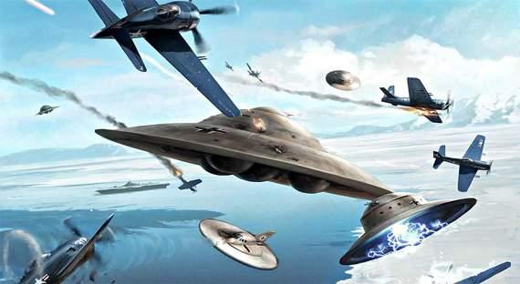 Летающие тарелки для адмирала Бэрда