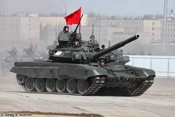 Живучесть российского Т-90А в Сирии