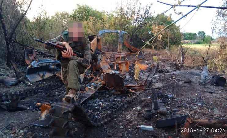У мережі показали знищену на Донбасі техніку бойовиків