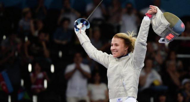 Фехтувальниця Харлан виграла Кубок світу, випередивши у заліку росіянку