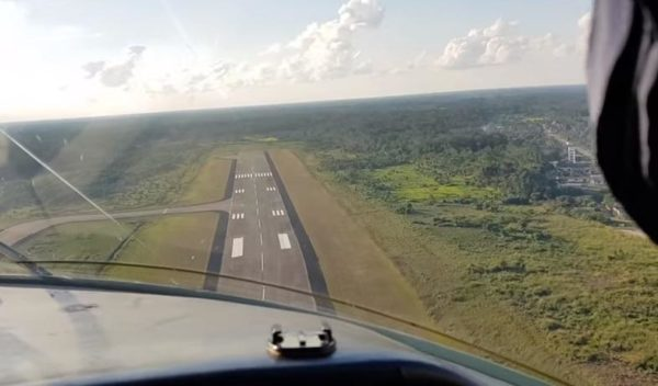 Появилось впечатляющее видео взлета украинской «Мрии» прямо из кабины пилота