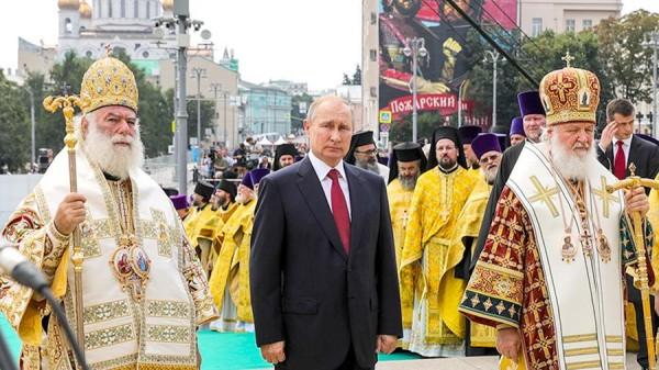 Россия присвоила праздник крещения Руси. Путин продолжает нагло лгать и переписывать историю.