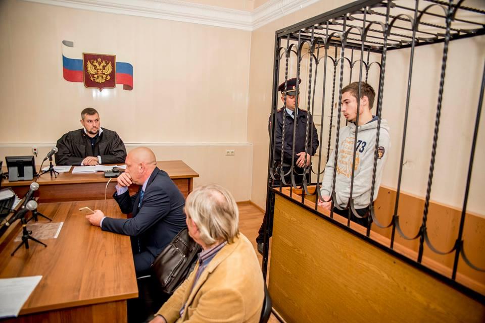 """""""Суд"""" РФ оставил Павла Гриба в СИЗО под стражей до 20 декабря, парня жестоко избили заключенные"""