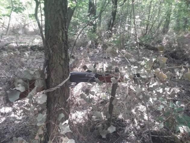 """У лісах під Запоріжжям хтось розставляє """"пастки смерті"""""""