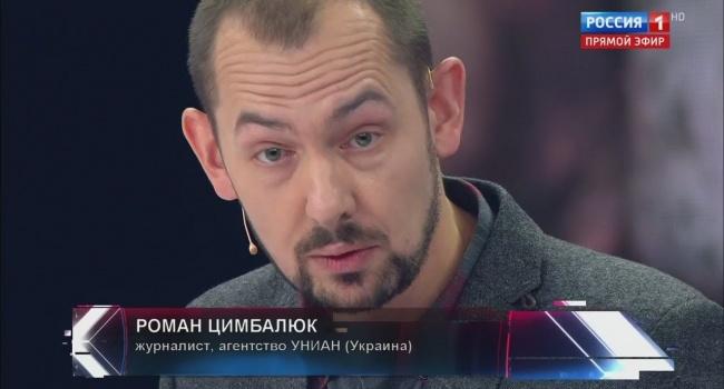«Ваши флаги в Украине не ждут», — Цимбалюк поставил на место пропагандистов, вызвав у них истерику в студии