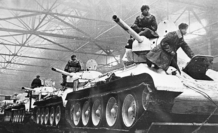 Если бы не США, друзья-гитлеровцы стерли бы СССР с лица земли