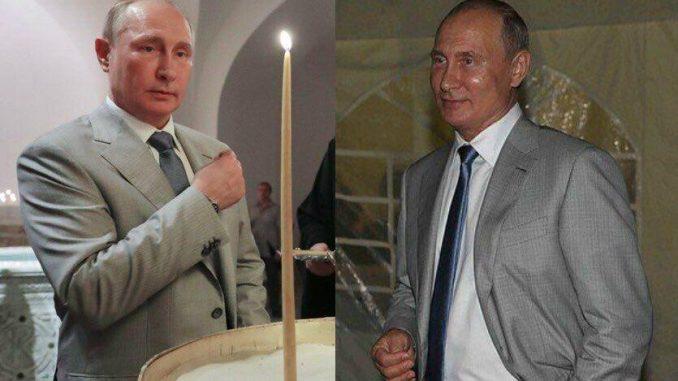 В разных местах и практически одновременно: в Крыму «засветились» сразу два Путина — уникальные кадры