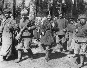 Военные преступления советских партизан в Белоруссии, Прибалтике и Финляндии.