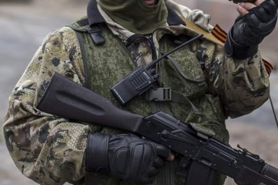 Террористы обстреляли украинских военных из гранатометов