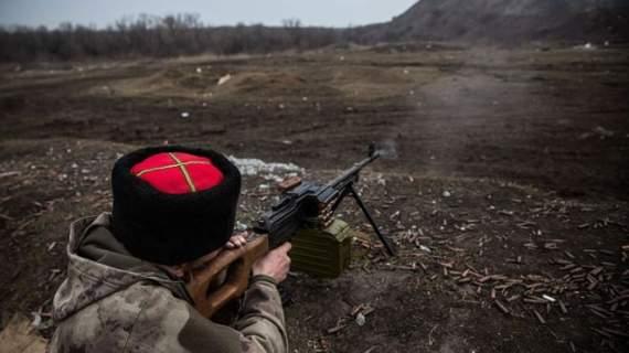 Боевики атаковали украинские позиции в районе Донецка
