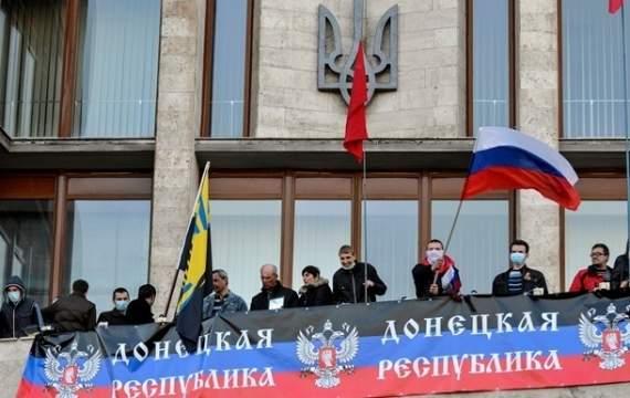 """На Донбассе приговорили к 5 годам организатора """"референдума"""""""