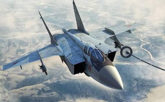 В РФ разбился истребитель-перехватчик Миг-31