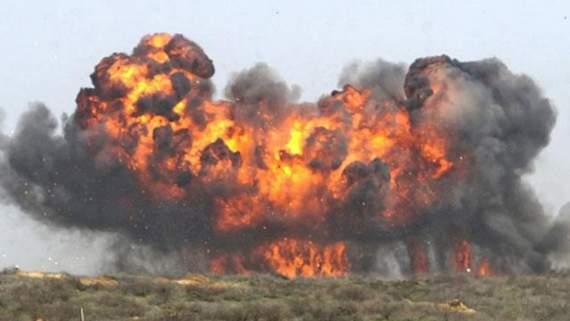 Горловка сотряслась от мощного взрыва