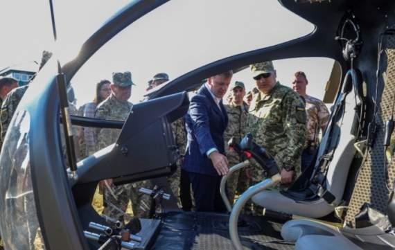 Украинцам показали новую военную технику, которой будут уничтожать врагов. ВИДЕО