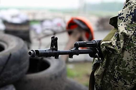 Боевики атаковали украинские позиции возле Мариуполя