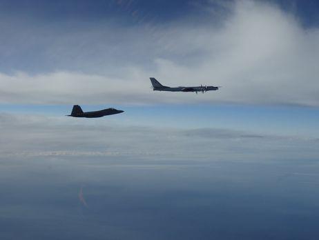 Россияне тренируются бомбить Аляску