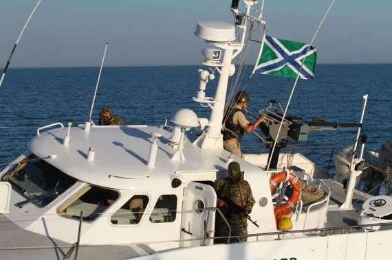 Россия начала устраивать провокации в Азовском море. ФОТО. ВИДЕО