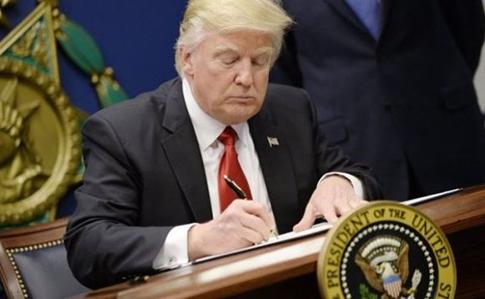 Трамп подписал бюджет, который предусматривает $250 млн для Украины