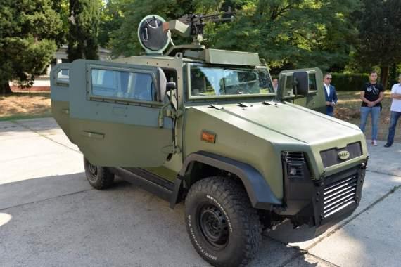 Черногорская бронированная машина MAŠAN