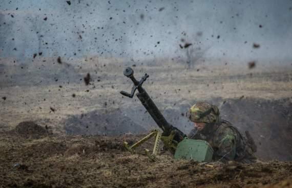 Боевики Донбасса били из гранатометов, крупнокалиберных пулеметов и противотанковых ракетных комплексов