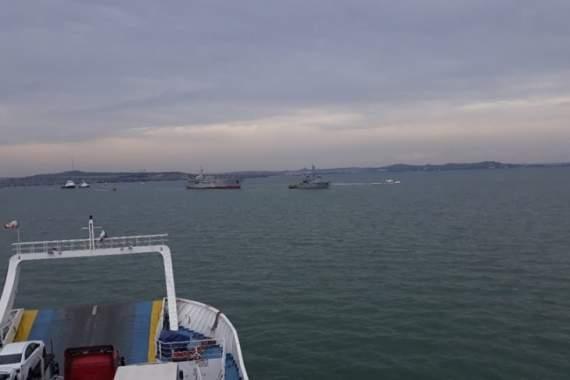 РФ провоцировала украинские корабли во время прохождения через Керченский пролив