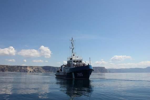 В оккупированном Крыму задержали украинское рыболовецкое судно