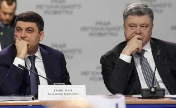 Цена на газ для населения «похоронит» рейтинги Порошенко и Гройсмана, – аналитик
