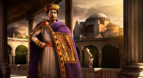 Большая игра: какимператор Юстиниан бросил вызов Истории