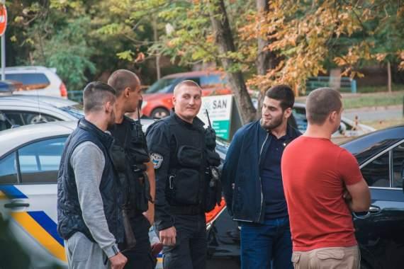 В Киеве задержали кавказцев с оружием, среди них сын человека Кадырова
