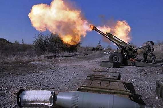 ЛНР атакует Бахмутку и подтягивает тяжелое вооружение