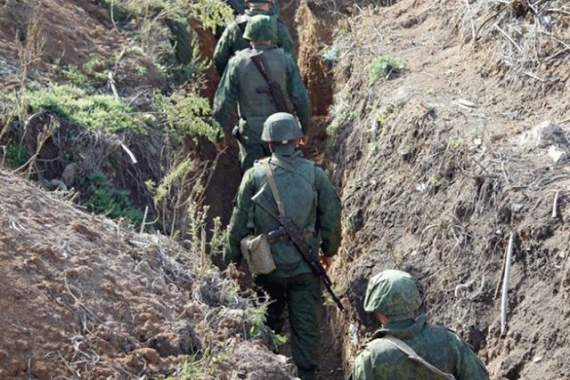 Боевики пошли в атаку на украинские позиции в районе Горловки