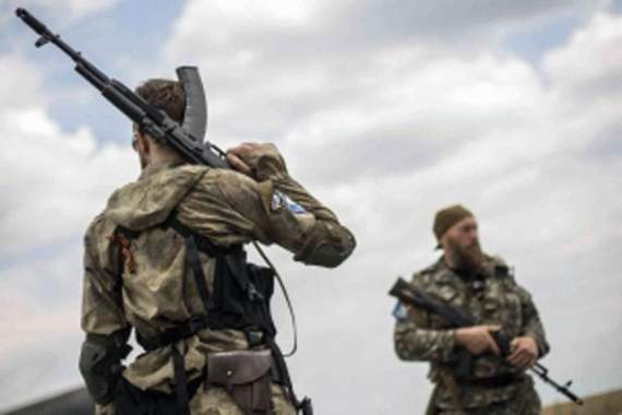 Боевики наращивают силы в районе Станицы Луганской опасаясь наступления  ВСУ