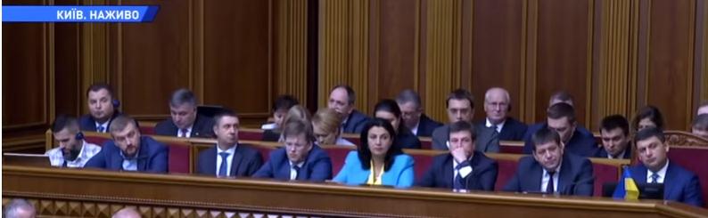 Аваков демонстративно «опустил» Порошенко /Фото/