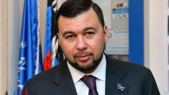 Боевика Пушилина отстранили от должности