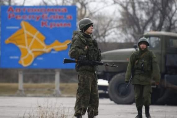 Кремль требует увеличивать количество военных в Крыму – разведка
