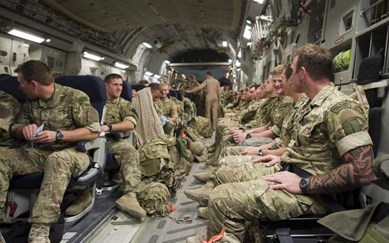 Великобритания направит в Украину Королевскую морскую пехоту
