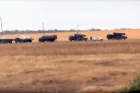 Россия перебрасывает к украинской границе «Ураганы». ВИДЕО