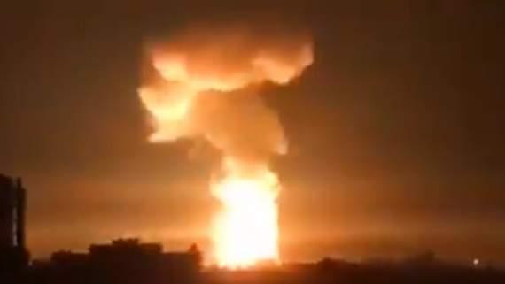 """""""С-400 не помог"""": Израиль нанес новые удары по Сирии. ВИДЕО"""