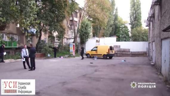 Появилось видео нападения на инкассаторов в Одессе